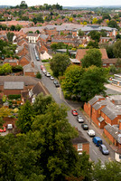 LA67 Priest Lane from Pershore Abbey Tower