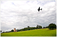 LA145 Lancaster over Croome Park 2